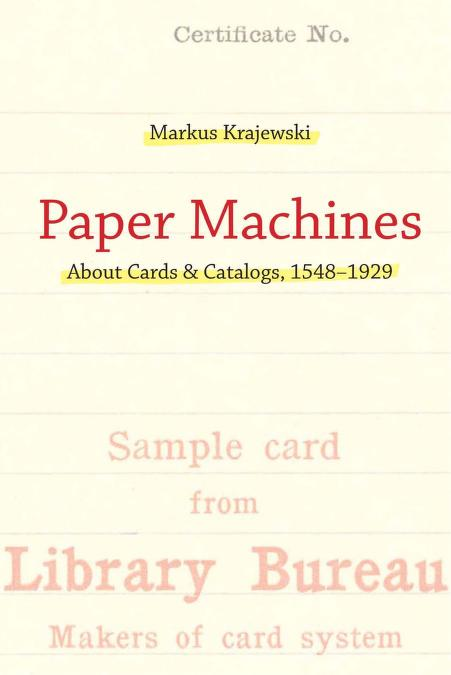 Paper machines by Markus Krajewski
